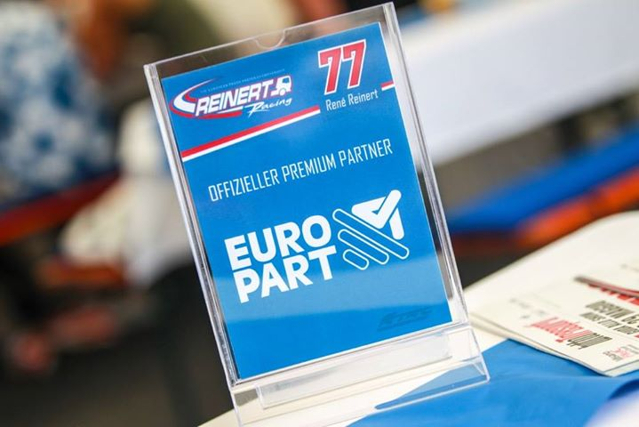 EUROPART - the official sponsor of the winning team!