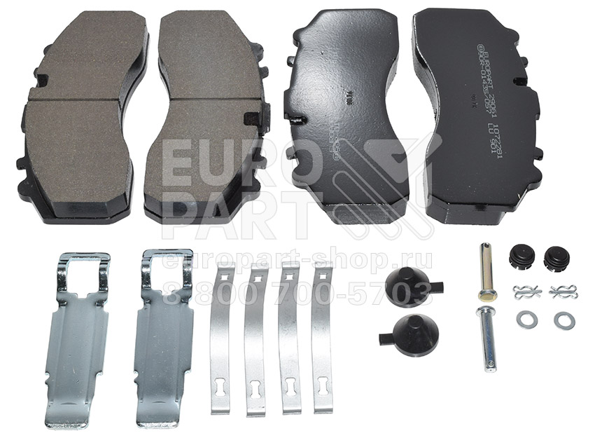 EUROPART / 2323405206 - Brake disc pads set (SB7, SN7)