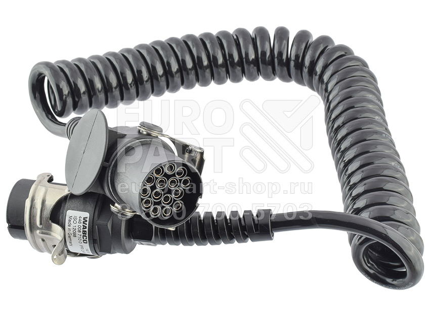 Wabco / 4460087100 - electric cable 24V twisted pole